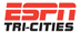 ESPN Tri-Cities radio red and black logo