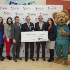 first Bank and Trust check presentation